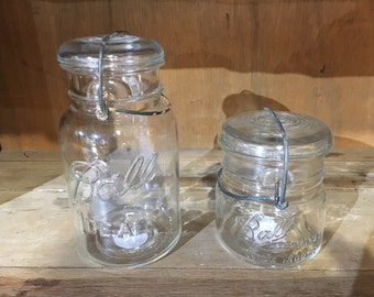 Vintage Ball Ideal Canning Jars - Quart