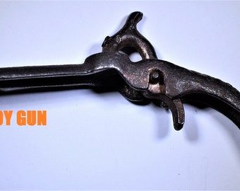 FD   Stevens Cast Iron Cap Gun 3 star Rarity 1886