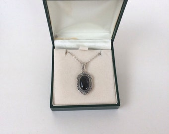 Irish Connemara Marble Sterling Pendant and Chain