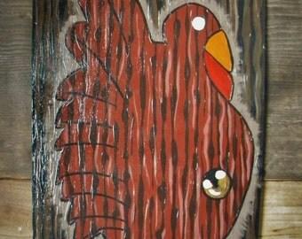Nightmare Before Christmas Inspired Turkey Door,Turkey Door Hanger, Door Decor, Thanksgiving, Fall, Door Hanger, Door Wreath