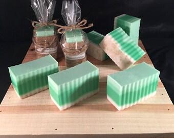 Honeydew Melon goats milk soap, best selling