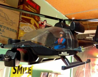 1983 Blue Thunder Helicopter by Multi-Toys