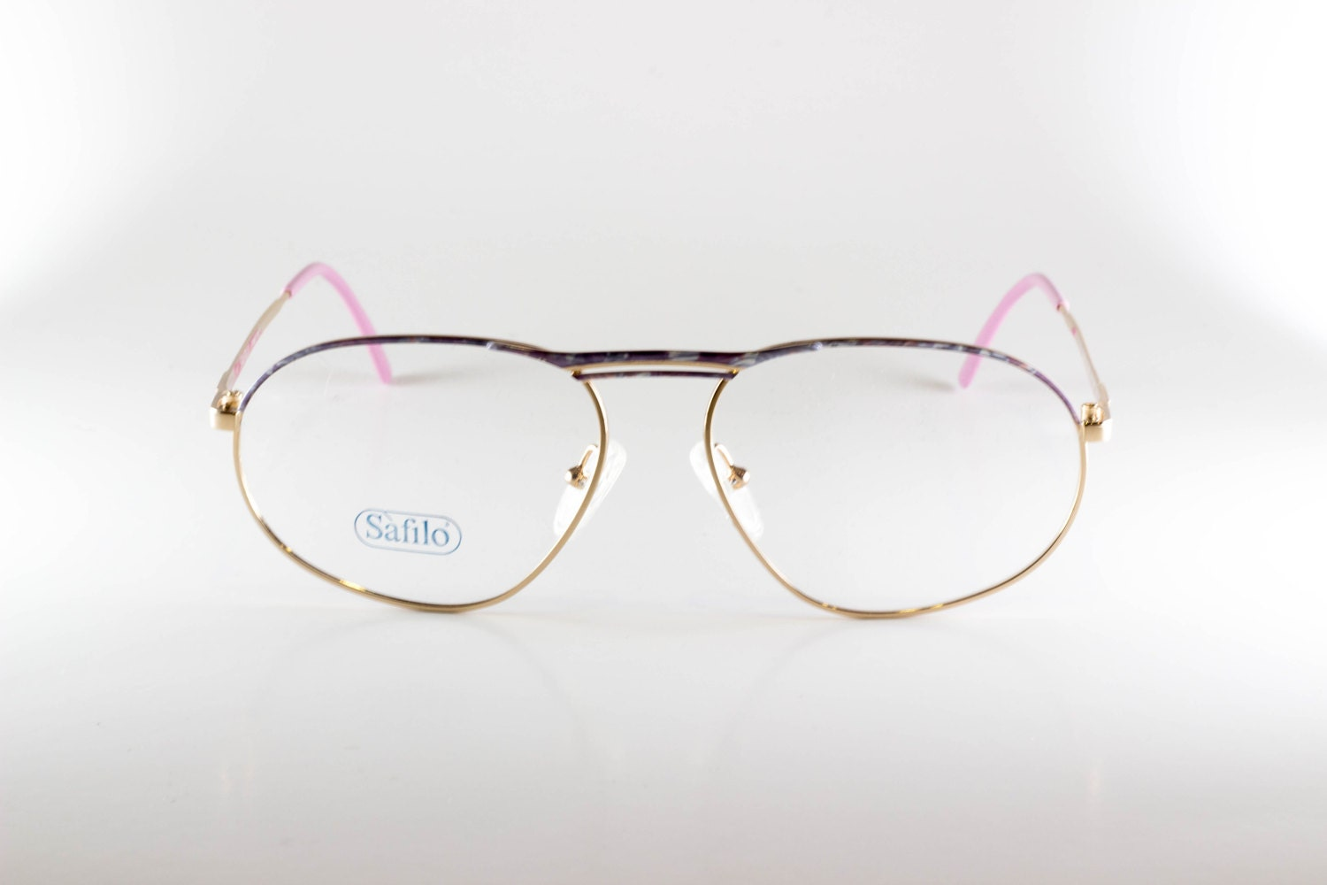 Safilo Linea D 200 48N Made In Italy CE Women\'s 56-15-140 Vintage ...