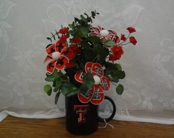 Texas Tech Floral Arrangement--S1778