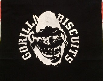 Gorilla Biscuits Backpatch