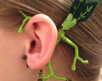 Mini Bowtruckle Ear Wrap