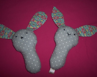 Puppy/Bunny Baby Rattle