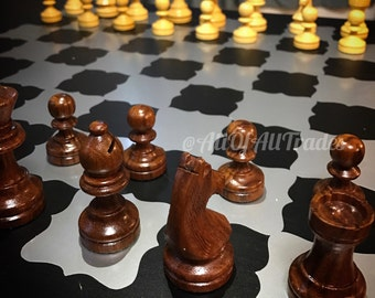 Chess Board, Vinyl Decal Customized
