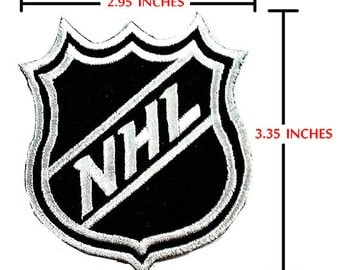 NHL Sport Logo Embroidery iron-sewing-patch on fabric