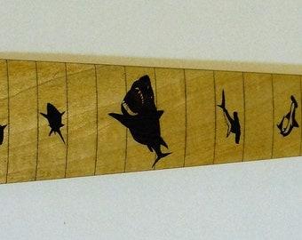 Shark Electric Guitar Fretboard