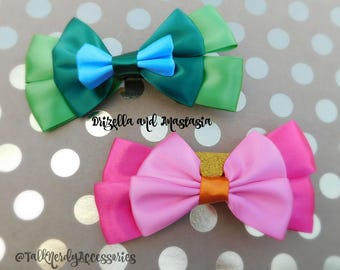 Anastasia and Drizilla Hair Bows