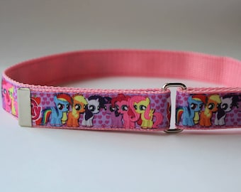 Pink My Little Pony - Kids' Adjustable Velcro Belt