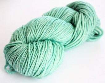 Malabrigo Rios Yarn, Worsted Weight Superwash Merino, Yarn Water Green Yarn 083