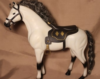 1993  Arabian Horse ~ Kid Kore ~ Saddle and Bridle ~ Vintage Collectible