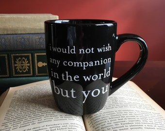 Shakespeare The Tempest Quote Mug - 12oz Black