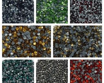 Loose Rhinestone Packs/ Swarovski Shine Rhinestones Hot Fix Crystal SS10/1440Pcs