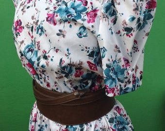 80s vintage Dress | Dress 80s | Vintage dress | Flower print dress | original vintage Dress | Mod dress