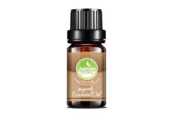 Myrrh Essential Oil - Jaimin Essence - Pure Myrrh Oil - Aromatherapy Oil - Therapeutic Grade - Pure Essential Oil