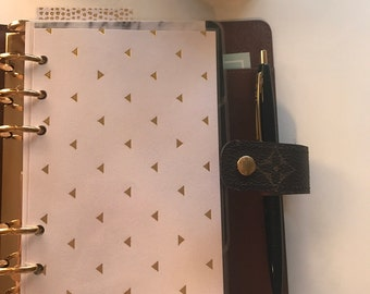 Triangle Gold Foil Personal Planner Insert