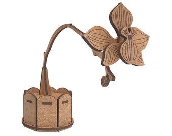 Orchid - 3D puzzle