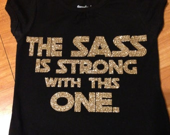 Sass is strong tee