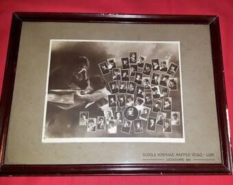 Antique photograph Praises Licenziande1920