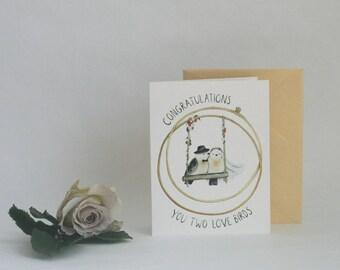 LOVE BIRDS |  CARD