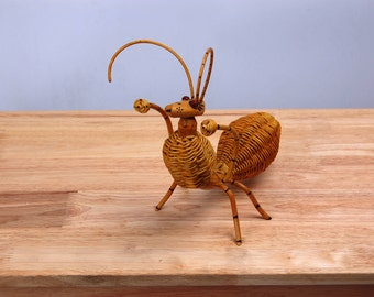 Rattan home decorate #Ant #Thai handmade #made from natural #Animal #Wicker