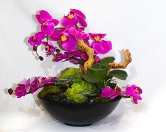 Pink Orchid Floral Arrangement