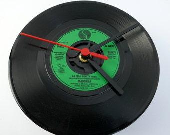 "Madonna - 'La Isla Bonita' 7"" Record Clock"