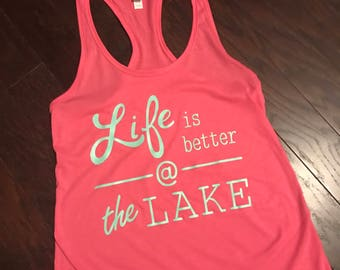 Life is better at the Lake.
