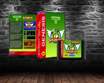 Vector the Crocodile - Scale to Victory in this Sonic 1 Hack - GEN