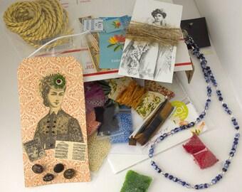 Mystery Treasure Box  Free Shipping  Emphemera Goodies