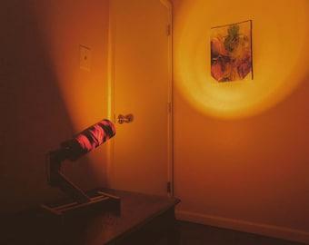 Pine Cylinder Spotlight
