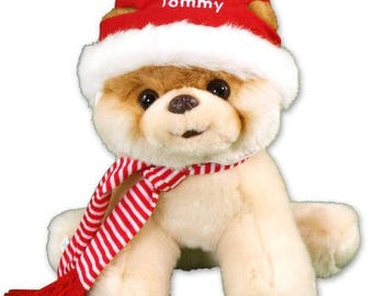 Personalized Boo, Worlds Cutest Christmas Dog Custom Name Gift