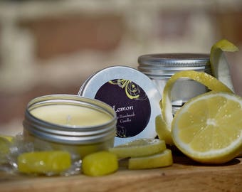 Pack of 2! Lemon Scented candle.