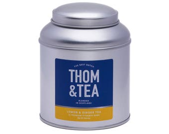 Tea Caddy - Lemon & Ginger Tea
