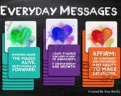 Everyday Messages Affirmation Deck