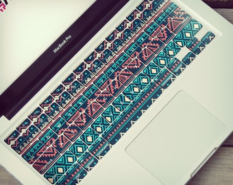 MacBook keyboard stickers boho style keyboard ethnic skin MacBook keyboard decal MacBook keyboard skin