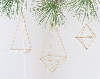 Modern Brass Geometrical handmade Ornaments/himmeli