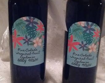 BODY WASH- Tropical Fruit Explosion/ Pina Colada/ 9 oz and 16 oz sizes.