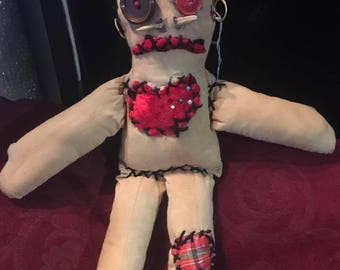 Punk Voodoo doll!