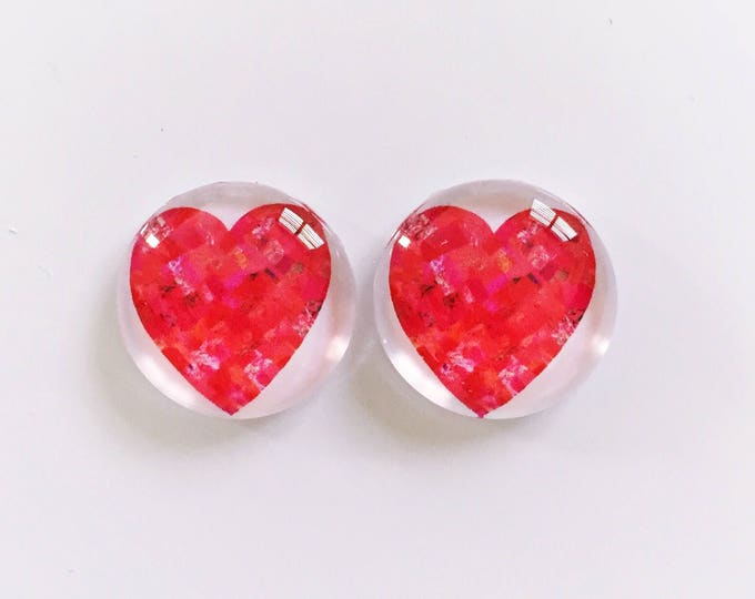 The 'Mandy' Glass Earring Studs