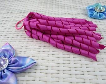 Korker Hair Tie - Dark Pinks