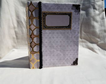 Mini album, scrapbook album, scrapbook, photo album, engagement album, wedding album, engagement gift, memory album, photo album, brag book