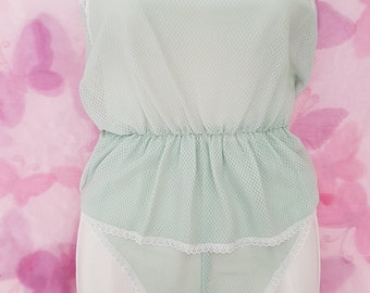 Mint Green Summer PJ set