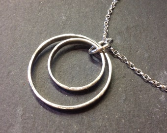 Two ring pendant