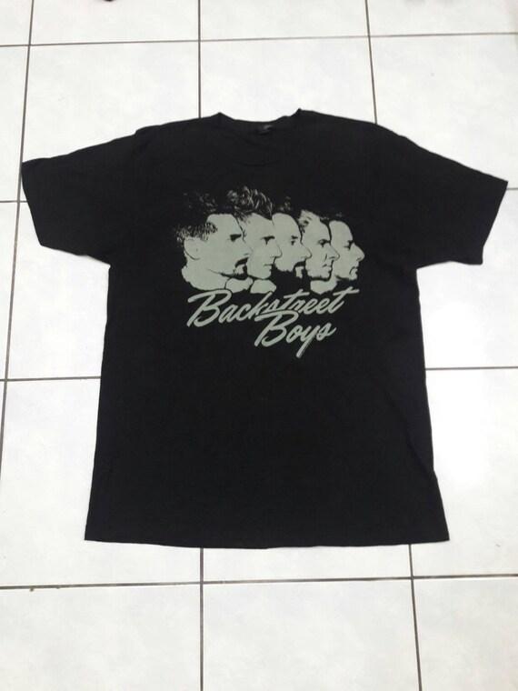 Vintage Backstreet Boys music band tshirt Large