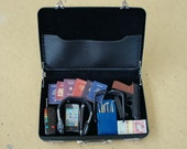 1/6 Scale Miniature Briefcase - Espionage kit