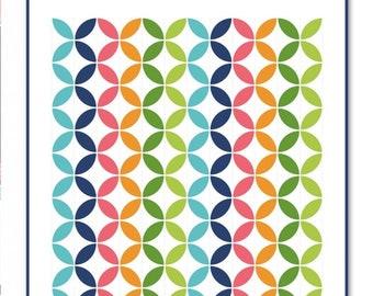 Round Robin Quilt Pattern by It's Sew Emma